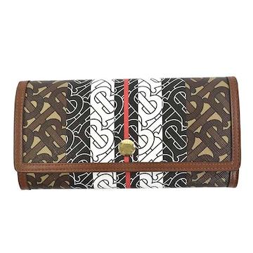 ★バーバリー LS HALTON 長財布(BR)『8022012』★新品本物★