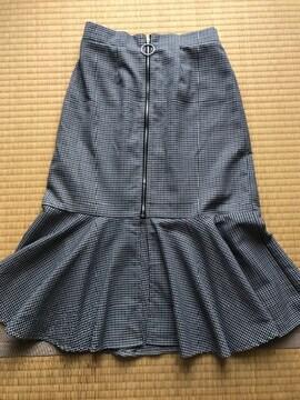美品 ARCHIVES アルシーブ フレアマーメイドスカート F