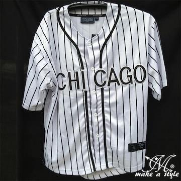 MLBシカゴ ホワイトソックス BBシャツ ベースボールシャツL 62