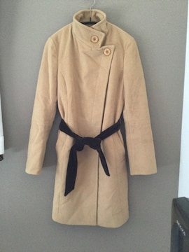 FREE'S PHRASE ステンカラー コート ベルト付き