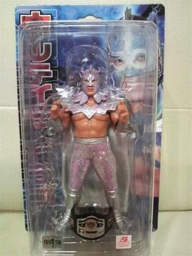 新品 新日 WWE WCW ウルティモ・ドラゴン 浅井嘉浩パープル ラメ入りコスチューム