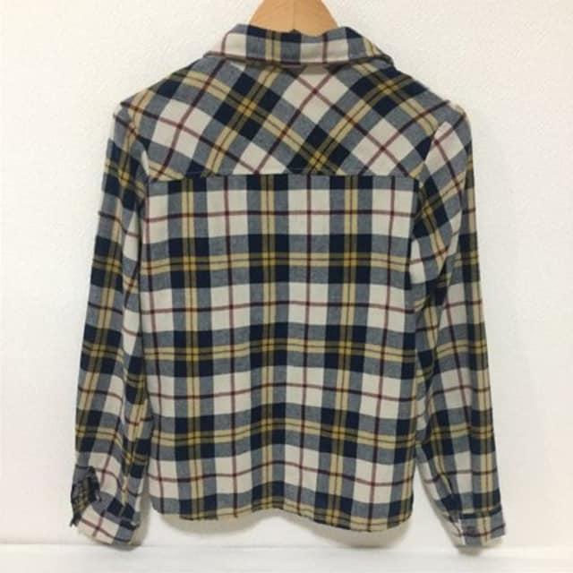 #GRLチェックシャツ M < ブランドの