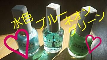 【韓国コスメ★マニキュア】#3色セット#ネオン#グリーン#ネイル