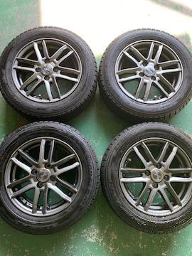 1082645)国産スタッドレスタイヤアルミホイ-ル4本セットコンパクトカ-175/65R14送料無料