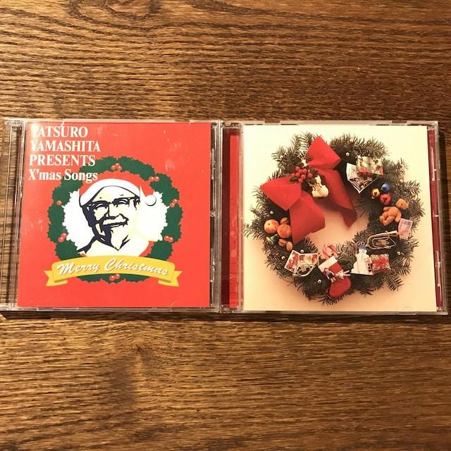 【山下達郎】クリスマスシングル2セット  < タレントグッズの