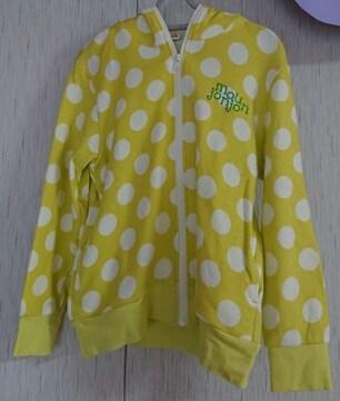 ムージョンジョン☆春物パーカー☆size130☆日本製