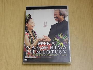中島美嘉DVD「FILM LOTUS V SOUTHERN COMFORT 2006」●