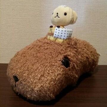 【送料無料/美品】カピバラさんぬいぐるみ☆おさるさんのゆず温泉