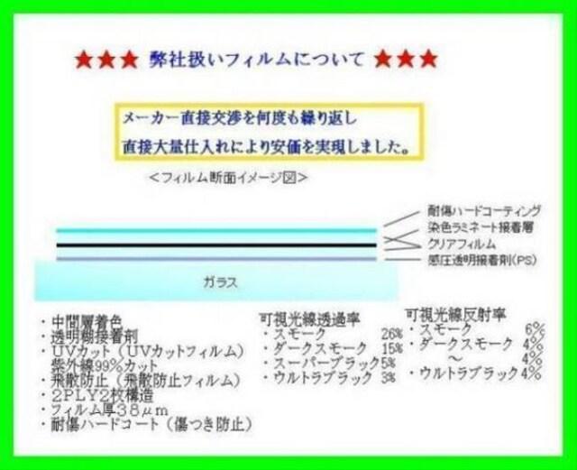 ホンダ CR-V RE3・4 カット済みカーフィルム < 自動車/バイク