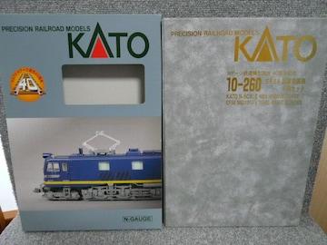 KATO「10-260 EF58試験塗装機4両セット」