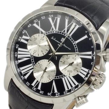 サルバトーレ マーラ クオーツ メンズ 腕時計 SM15103-SSBK