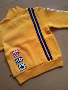 新品2ラインジャケット80黄ベビドBABYDOLLベビードール