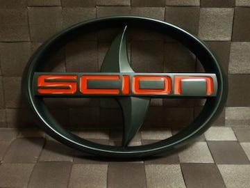 SCION サイオン トヨタ エンブレム つや消しブラック