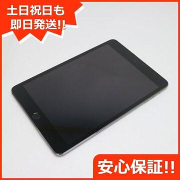 美品●docomo iPad mini 3 Cellular 64GB スペースグレイ●