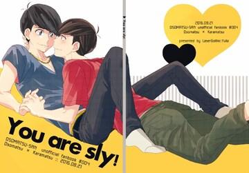 ☆送料無料☆おそ松さん/同人誌☆You are sly!☆中古美品☆