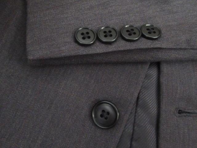 人気超美品★イオン:TOPVALU★毛:Super100's/深灰/Y5 W80 < 男性ファッションの