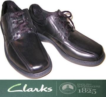 クラークス紳士靴プレゼント父の日ビジネスシューズ266114us8.5