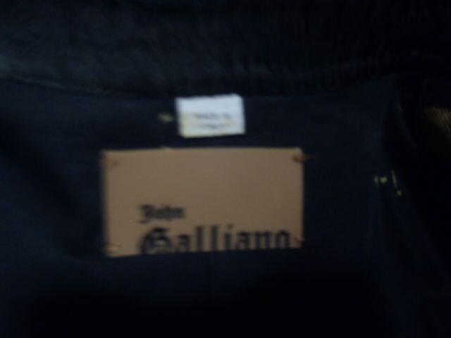 06aw John Galliano デニムジャケット ジョンガリアーノ バルマンオム < ブランドの