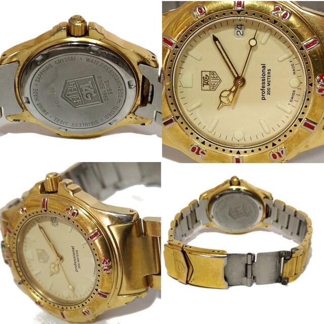 良品 1スタ★タグホイヤー Professional 200M【スイス】腕時計