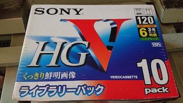 VHSビデオテープ  9本  新品  送料込み