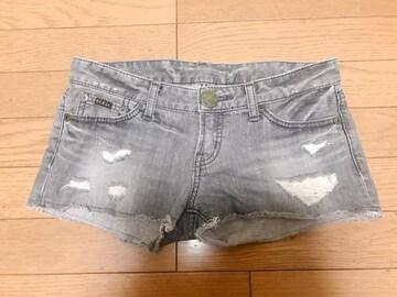 M】MURUA デニム ショートパンツ 25サイズ