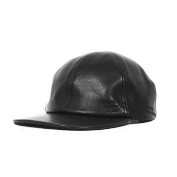 JULIUS ユリウス レザー キャップ 帽子 ラムレザー ラムスキン
