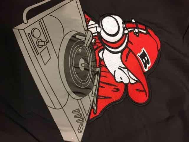 SOHK  シャカシャカ セットアップ  ナイロン  黒 サイズ2XL DJ < 男性ファッションの