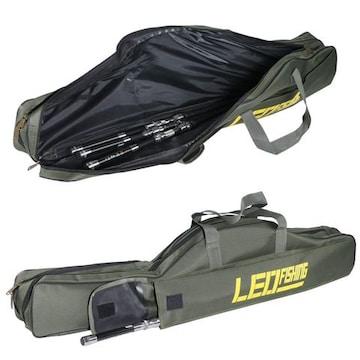 釣竿ケース ロッドケース折畳 持ち運び便利 1M
