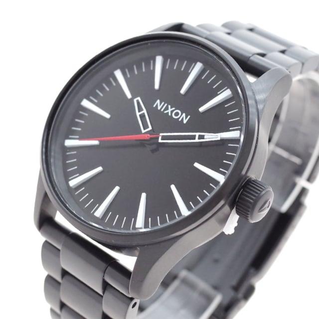 ニクソン  腕時計 メンズ A450005 クォーツ ブラック  < ブランドの