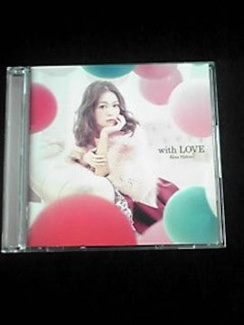 西野カナ WITH LOVE 初回生産限定盤 DVD付き 即決 大人気