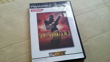 PS2☆ファイアーファイターFD18☆美品♪消防士アクションゲーム。KONAMI。