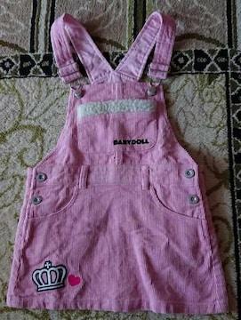 BABYDOLL☆ミニーちゃんのジャンパースカート☆110