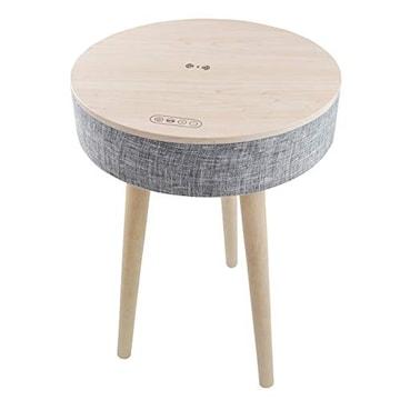 スピーカーテーブル サウンドテーブル ホワイト サイドテーブル