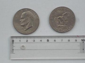 ☆ アメリカ 「1ドル硬貨」(普通の硬貨) ☆