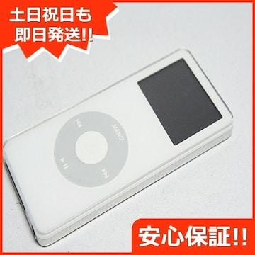 ●安心保証●美品●iPOD nano 第1世代 4GB ホワイト●