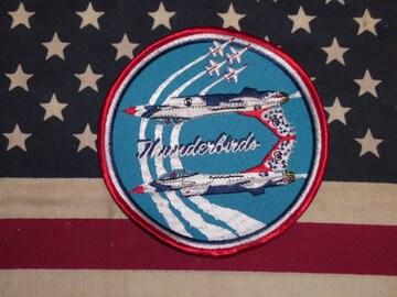 米空軍 アクロバットチーム サンダーバーズ パッチ