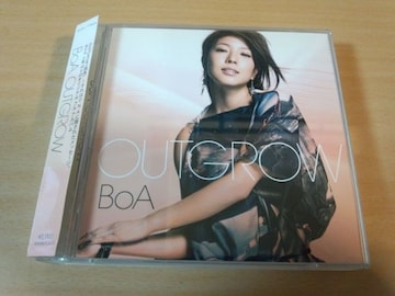 BoA CD「OUTGROW」初回盤CD+DVD●