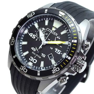 シチズン CITIZEN 腕時計 メンズ AT2437-13E クォーツ ブラック