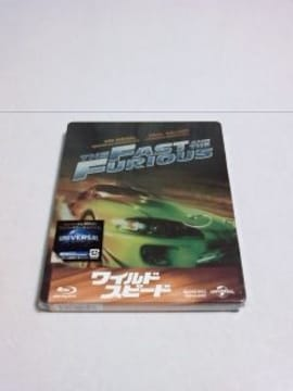 <送無>ワイルド・スピード*初回生産限定Blu-ray[スチールブック]