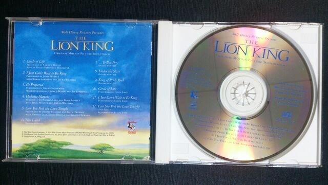 (CD)「ライオンキング」オリジナルモーションピクチャーサウンドトラック☆エルトンジョン♪ < CD/DVD/ビデオの