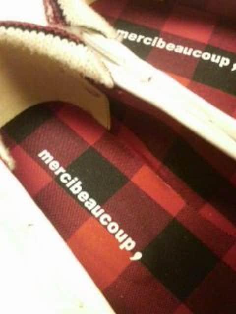 美品メルシーボークーモカシンシューズ千葉堂本マルコマルカフラボアFruitsTUNEKMKHARE < ブランドの