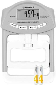デジタル握力計 握力測定 HG-200 HG-200 グレー