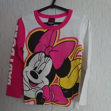 BABYDOLL☆春物☆ミニーマウスのロンT☆size110