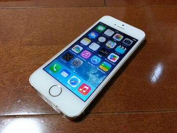 即落/即発!!美中古品 iPhone 5s 64GB ゴールド
