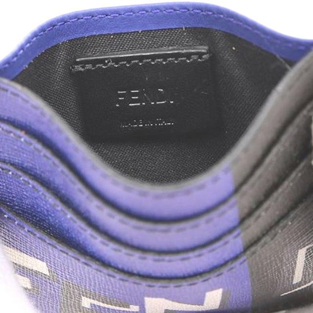 フェンディ 7M0164-A18E-F0U96 マチなしカードケース < ブランドの