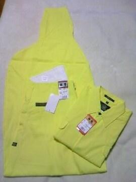 送料込☆寅壱【黄色】トビシャツM、3超ロング76cm
