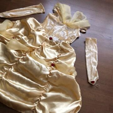 【DISNEY】美女と野獣ベルコスチュームハロウィン仮装プリンセス