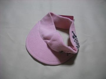 wn25 女 BILLABONG ビラボン ニットサンバイザー ピンク