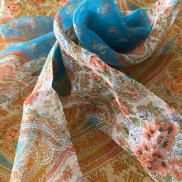 アナスイ  シルク100%スカーフ bu < 女性ファッションの
