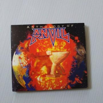 ANVIL『ANTHOLOGY OF ANVIL』リマスター&デジパック限定盤